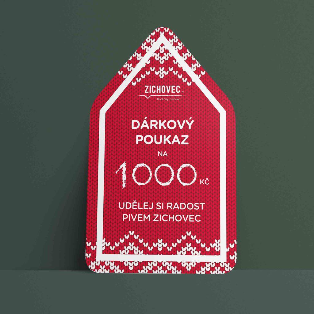 zichovec poukazy mockup nadilka 1000 » Pivovar Zichovec
